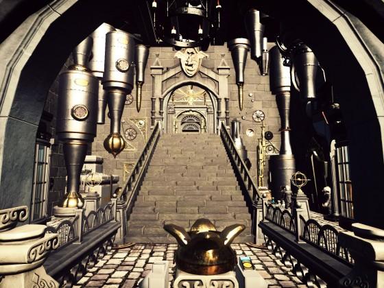 Harry Potter Gringotts Coaster [Darkride Coaster] Queue Entrance