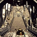 Harry Potter Gringotts Coaster [Darkride Coaster] Queue Entrance