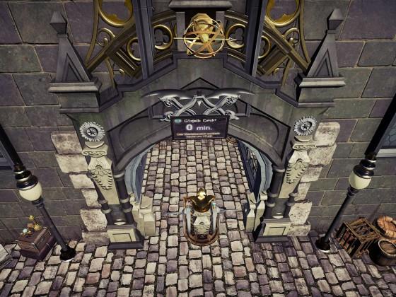 HARRY POTTER GRINGOTTS COASTER {Entrance}