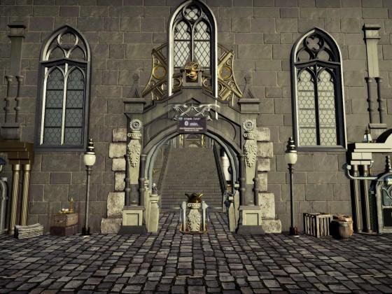 Harry Potter Gringotts Coaster [Darkride Coaster] Queue Entrance+FastPass
