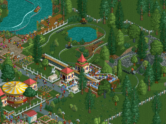 RCT1, Sz1, Forest Frontiers 4, Ponyhof