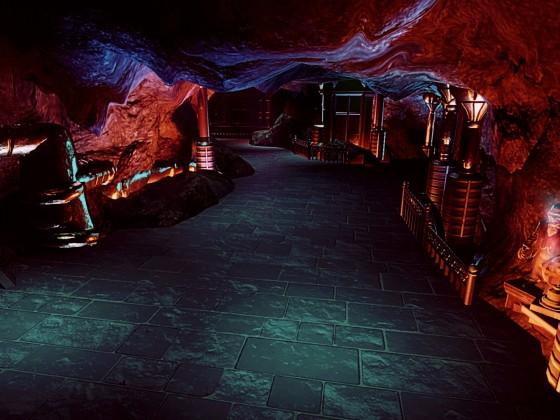Harry Potter Gringotts Coaster  {Underground Maintenance Area} ✨