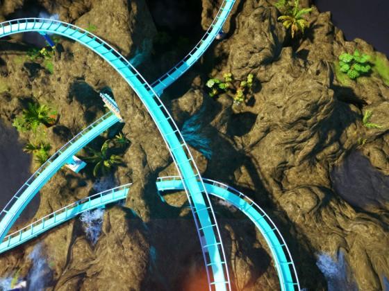TIKI SPLASH {Water Dive Coaster} NEW 2021