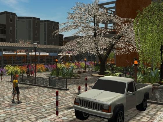 Nariko - Parkplatz