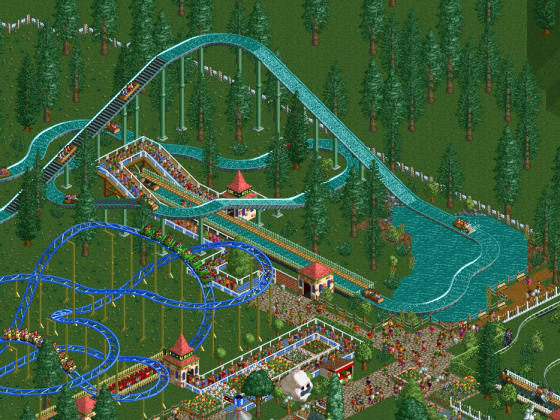 RCT1, Sz1, Forest Frontiers 3, Holzfäller