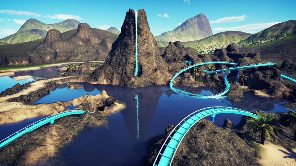 TIKI SPLASH {Water Dive Coaster} NEW 2021 Construction