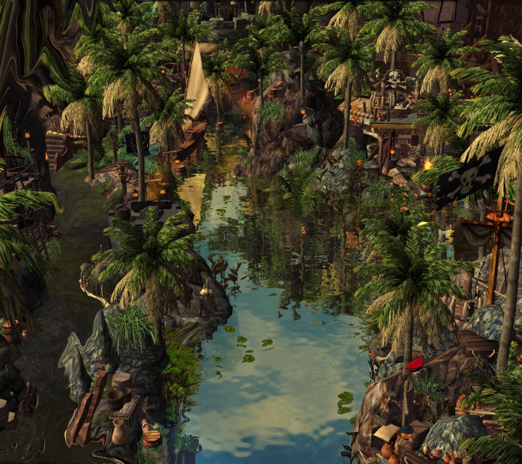 ImagineerTim's Pirates of the Caribbean {Water Darkride} ⚔️