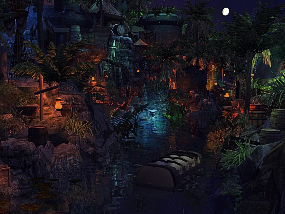 ImagineerTim's Pirates of the Caribbean [RCT3] Lagoon