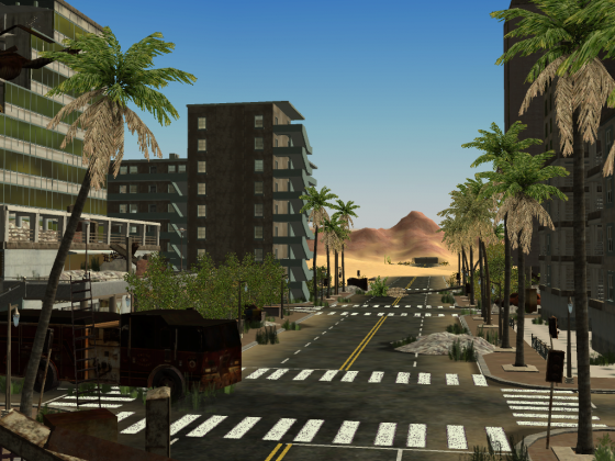 Die Wüstenstadt Pomona