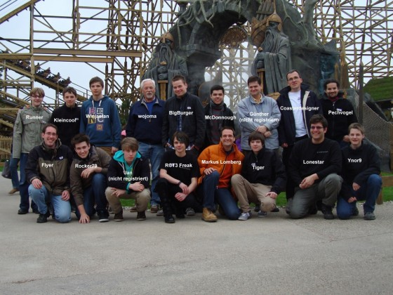 Usertreffen im Europapark 2012