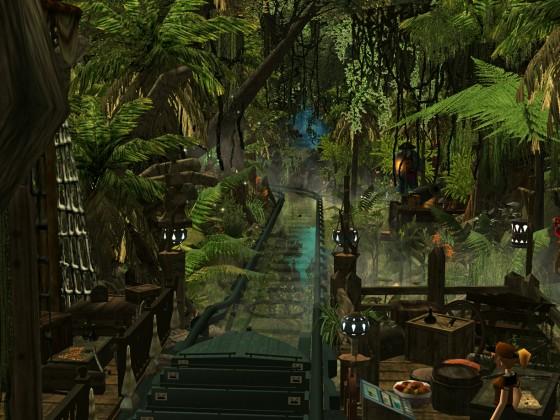 ImagineerTim's Piraten in Batavia {RCT3} Jungle Dispatch (Lights On)