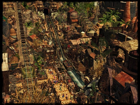 ImagineerTim's CHIAPAS [RCT3] 💀🐲  [First Lift]